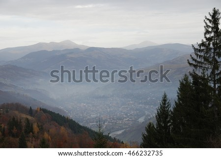 Carpathian Mountains. Ukraine #466232735
