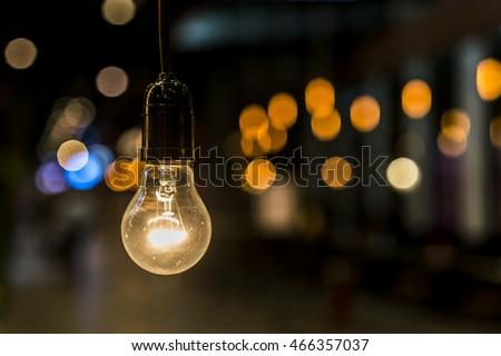 Old light bulb #466357037