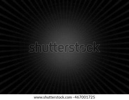Black background with radiant light effect in the middle #467001725