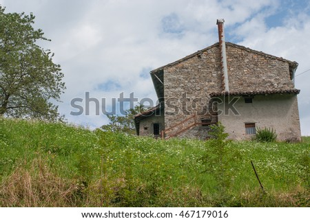 mountain landscape italy #467179016