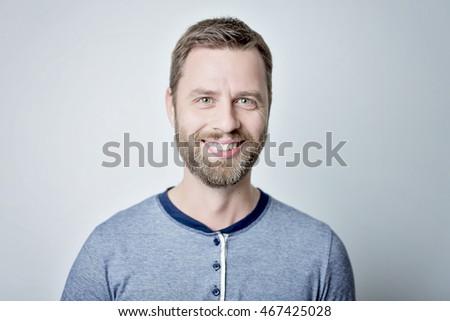 Portrait of a smiling man #467425028