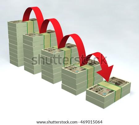 Yen 3D #469015064