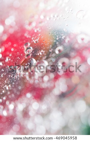 Oil drops abstract vivid colors background #469045958