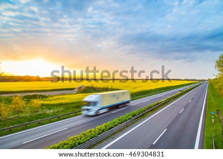 Autobahn - Germany #469304831