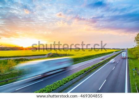 Autobahn - Germany #469304855