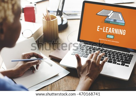 E-learning Education Internet Networking Sharing Concept #470168741