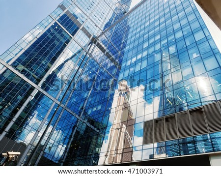 Moscow, Russia - August 02, 2016: International Business Center - Moskva City #471003971