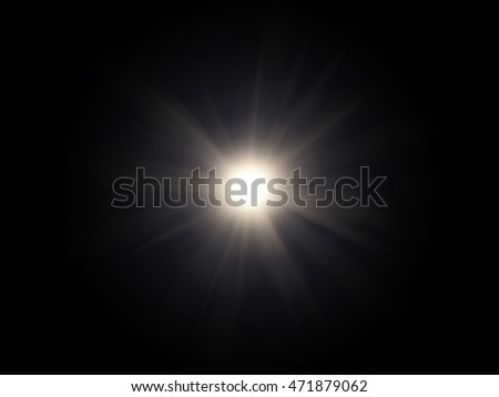 White light flare special effect  Royalty-Free Stock Photo #471879062