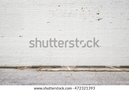 white brick wall background #472321393