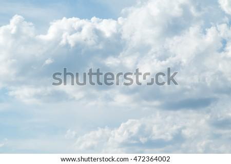 blue sky clouds #472364002
