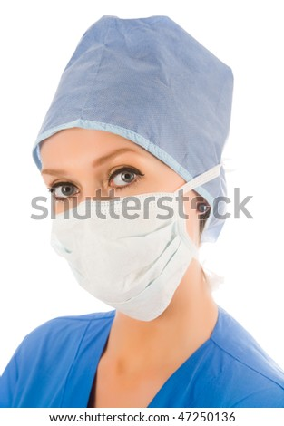 look of female surgeon #47250136