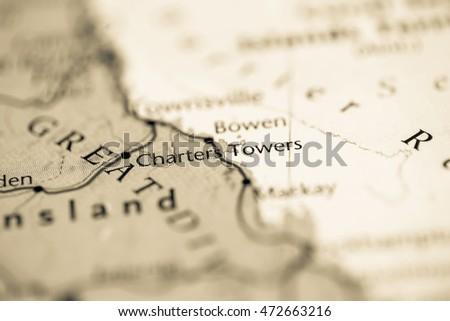 Charters Towers. Australia #472663216