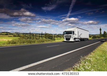 Truck transportation #473130313