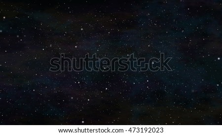 Beautiful starscape in a colorful space background. #473192023