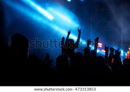 Crowd at concert #473313853