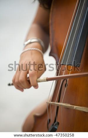 Women playing bass #47350258