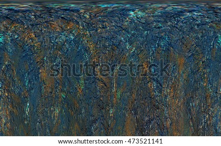 Grunge concrete wall scratched material background texture #473521141