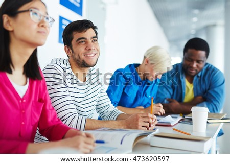 Students learning #473620597