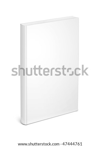 white book template Royalty-Free Stock Photo #47444761