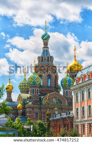 Church of the Saviour on Spilled Blood, St. Petersburg, Russia #474817252
