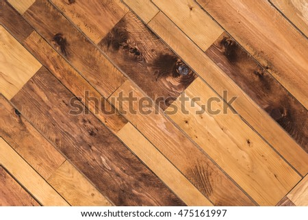Aged wooden textured background with good detail. #475161997