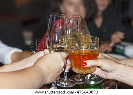 Dinner Party Celebration concept #475640893