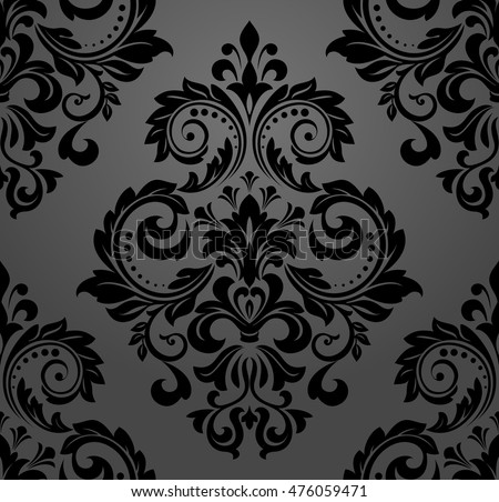 Damask 8x10 FT Photography Backdrop Damasks Surrounded by Round Circle Forms with Concentric Royal Mosaic Details Art Background for Party Home Decor Outdoorsy Theme Vinyl Shoot Props Yellow Black