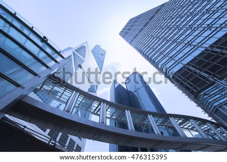 26-Aug-2016 Hong Kong, China Office buildings in Hong Kong business Central district. #476315395