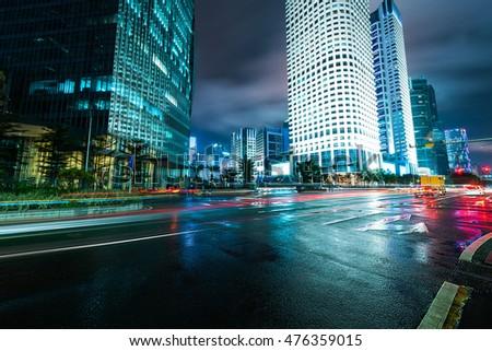 Urban landscape in guangzhou,china #476359015