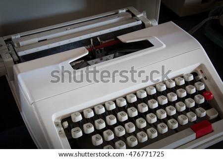 Vintage Typewriter. #476771725