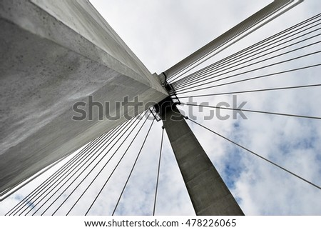 Cable-stayed bridge #478226065