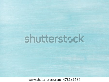 Blue faded painted wooden texture, background and wallpaper. Horizontal composition #478361764