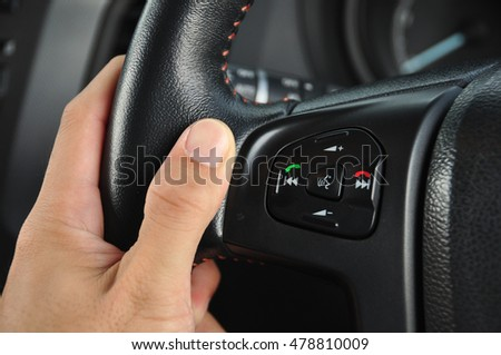Control buttons in car #478810009