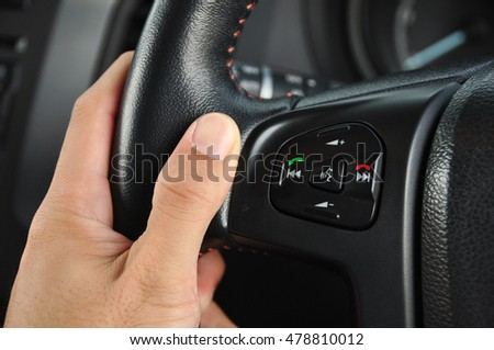 Control buttons in car #478810012