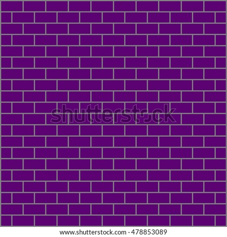 Brickwork. Colored abstract background. Vector illustration. For your design. #478853089