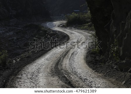 Country road #479621389