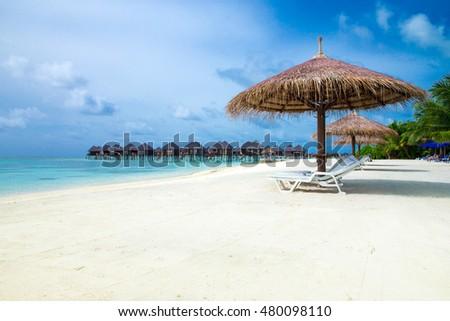 beach in Maldives #480098110