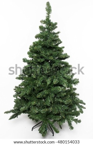 artificial Christmas tree #480154033