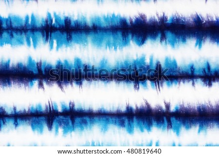 striped tie dye pattern on cotton fabric abstract background.  #480819640