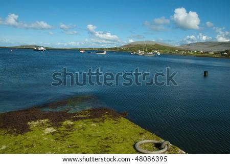 photo beautiful breathtaking vibrant  irish scenic coastal seascape #48086395