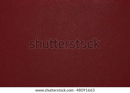 red  leather texture for  background Royalty-Free Stock Photo #48091663