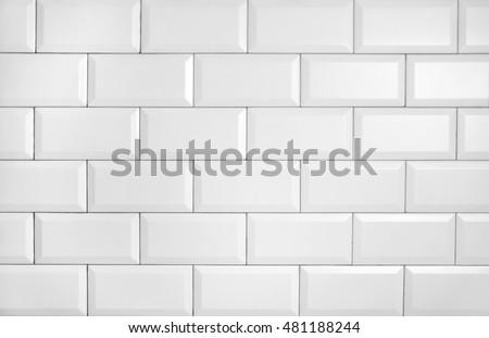 vintage tiled wall