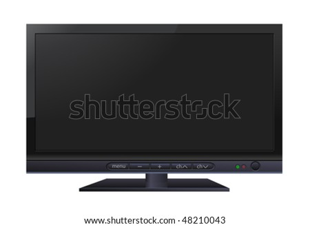 LCD wide TV #48210043