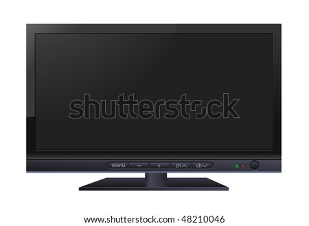 LCD wide TV #48210046