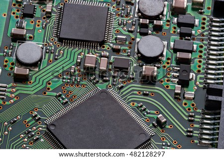 Electronic chip #482128297