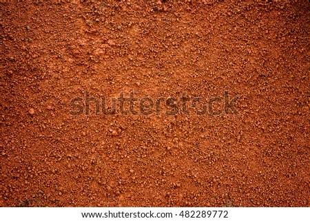 Brown dirt (soil) as background. #482289772