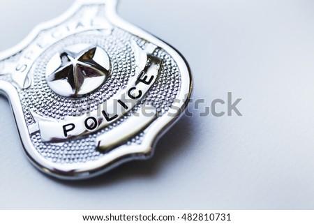 Police badge #482810731