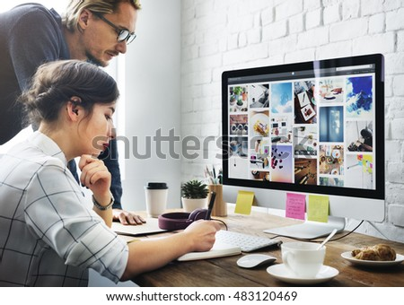 People Talking Meeting Discussion Design Concept #483120469