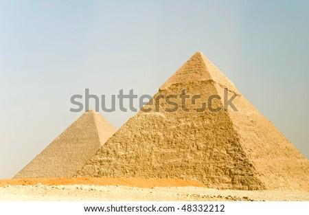 the pyramids of Giza, Egypt #48332212