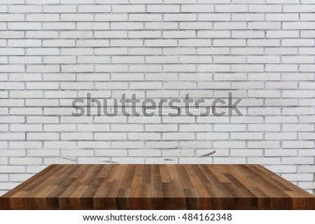 wooden shelf isolated on background #484162348